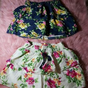Pair of Hollister Skirts